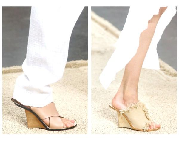 Chloe mules with fashion forward heel