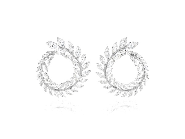 Chopard earrings from the Green Carpet Collection
