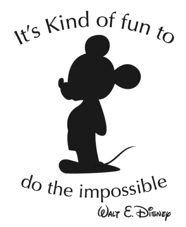 Disney quote Mickey Mouse