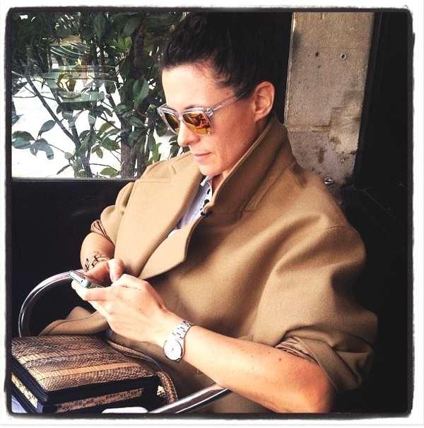 Garance Dore camel coat