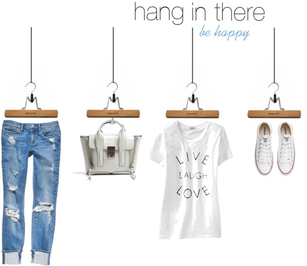 Icelle Hang in there collage