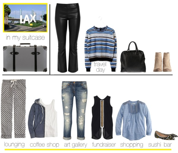 Icelle Outfit collage- weekend getaway