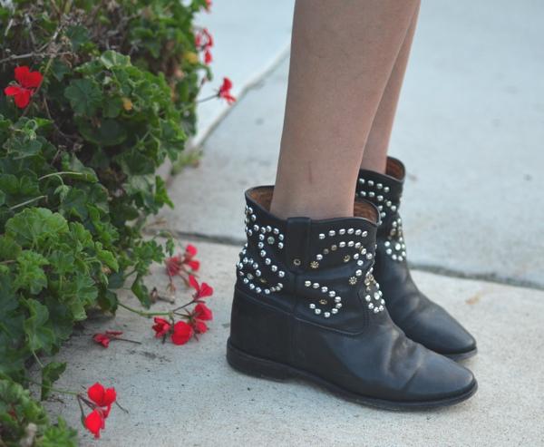 Isabel Marant hidded heel boots