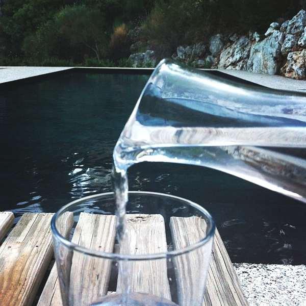 Instagram Recap- Best of July- black swimming pool