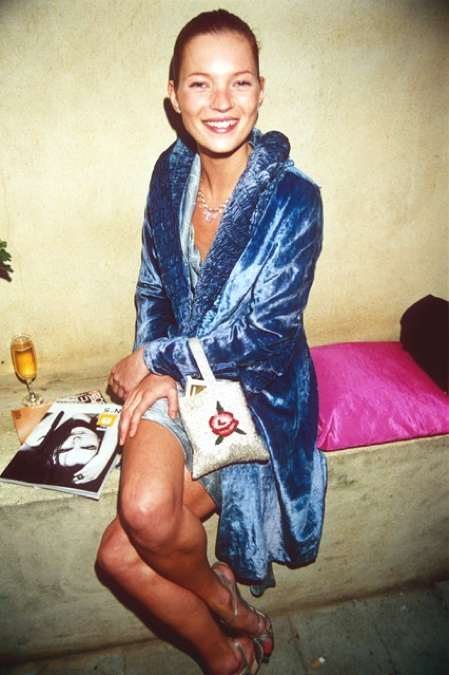 Kate Moss 1998 vogue party