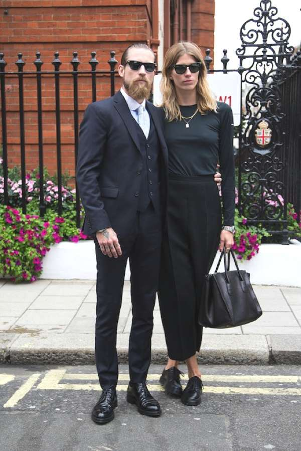 The best dressed couple- Justin O'Shea and Veronika Heilbrunner