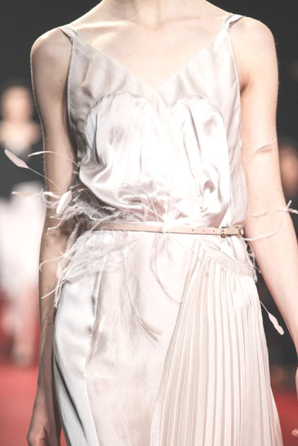 Nina Ricci feathers