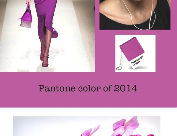Pantone color 2014 Radiant Orchid