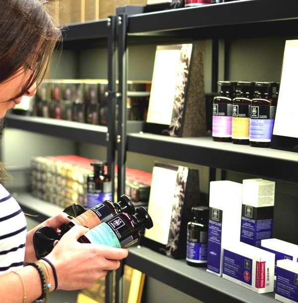 The Apivita Experience store- Niki Svolou