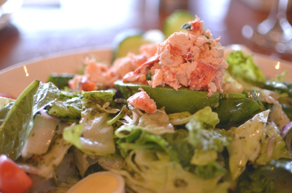 The Fish Market San Diego, lobster salad
