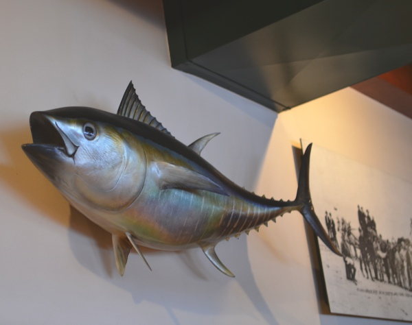 The Fish Market San Diego decor