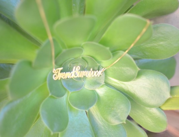 TrendSurvivor necklace