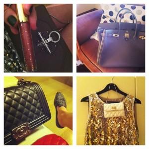 Trendsurvivor bags, Chanel, Givenchy obsedia, Hermes birkin collage