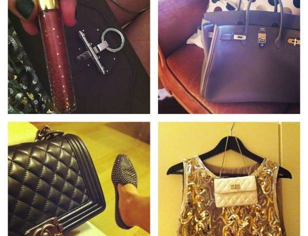 Trendsurvivor bags, Chanel, Givenchy obsedia, Hermes birkin collage