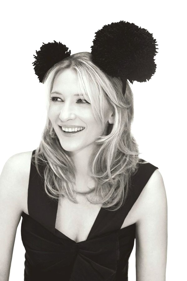 Cate Blanchett black mouse ears