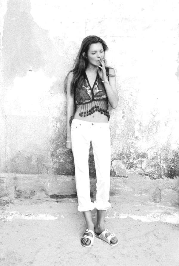 Kate Moss Birkenstocks