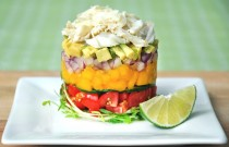 The Roppongi Crab Stack Salad Recipe