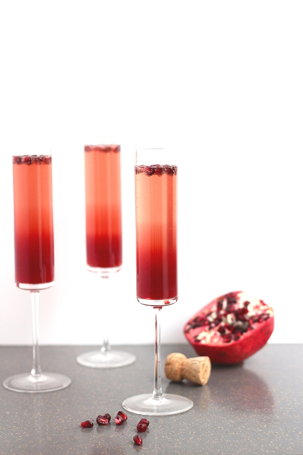 3 Amazing Different Valentine Day Cocktails-Pomegranate-Cranberry-Sparkler-1