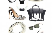 9 Black & White Accessories for Spring 2014