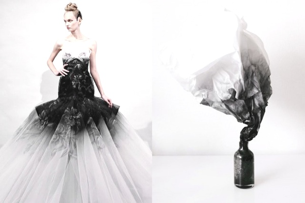 Fashion InspirationFantasy-Wedding-Dress-by-Marchesa-Spring-2011-Smoke-by-Andrew-Kim