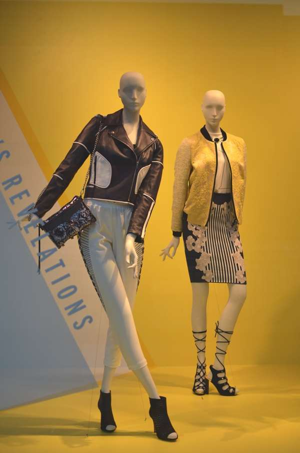 Fashion Valley Mall San Diego- Nordstrom window