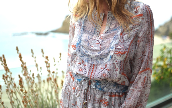 Gypsy05 silk mini dress