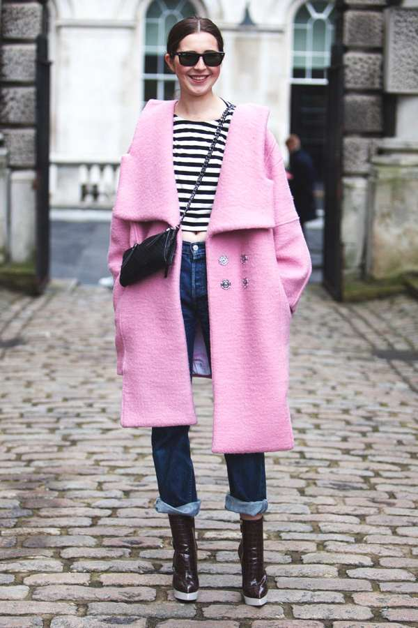 London Fashion Week street style 15