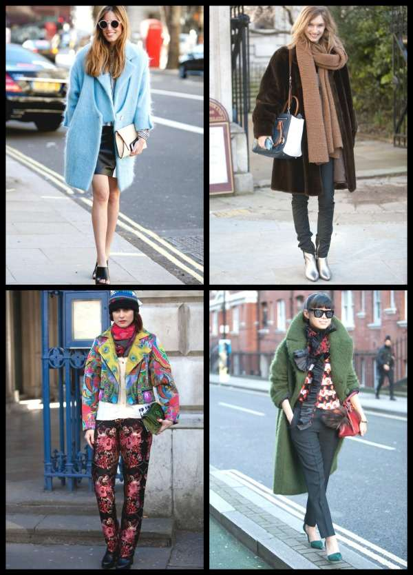 London Fashion Week street style Collage 7