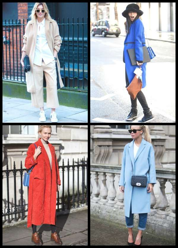 London Fashion Week street style Collage 8