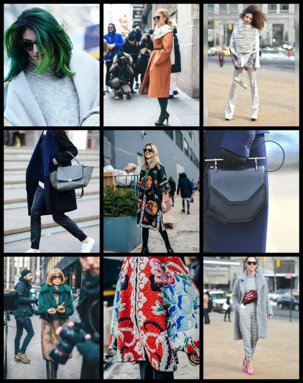 NYFW Street style collage 2