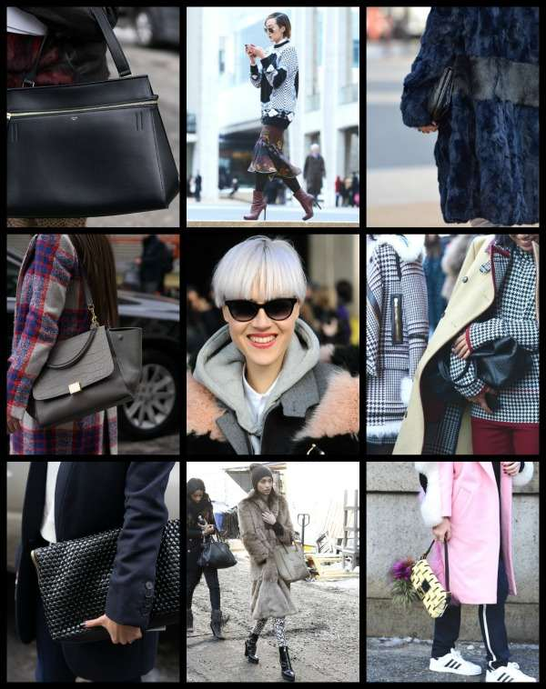 NYFW Street style collage 5