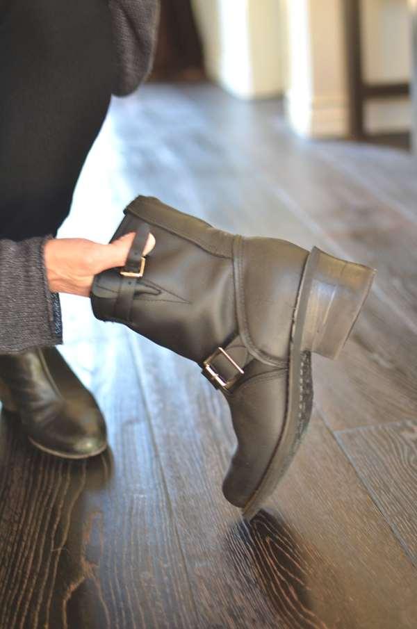Frye veronica boots extra heel