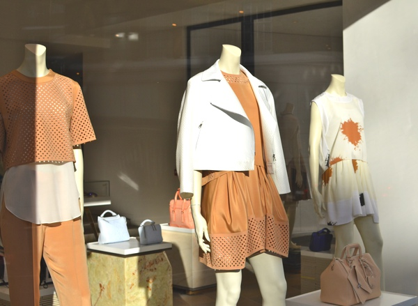 Phillip Lim South Kensighton Window Display 2014