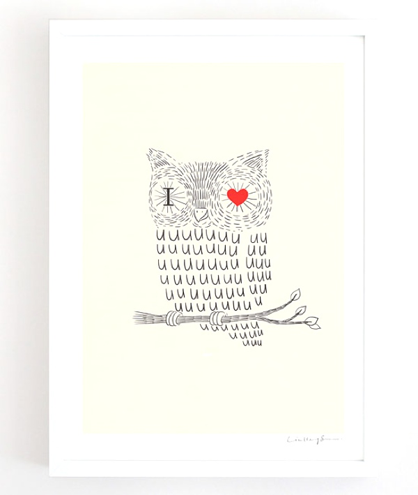 I love you owl
