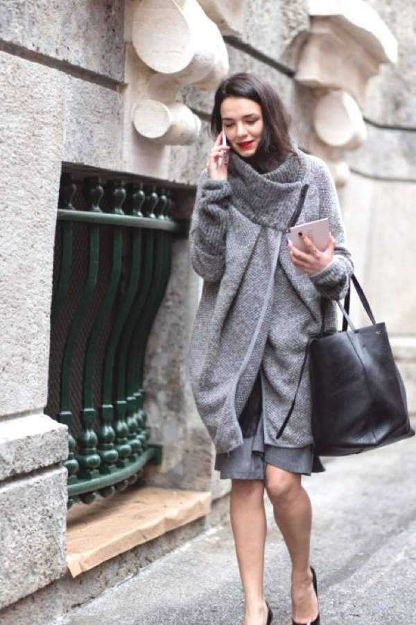 shades of grey street style