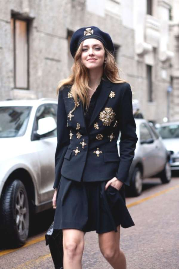 Chiara Ferragni at MFW