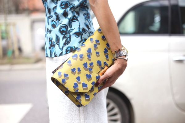 MFW street style 2014 accessories