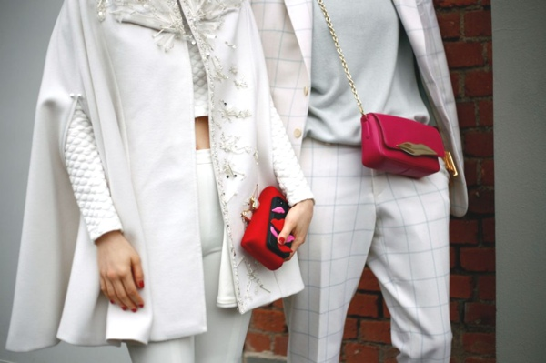 Milan Fashion Week street style whites