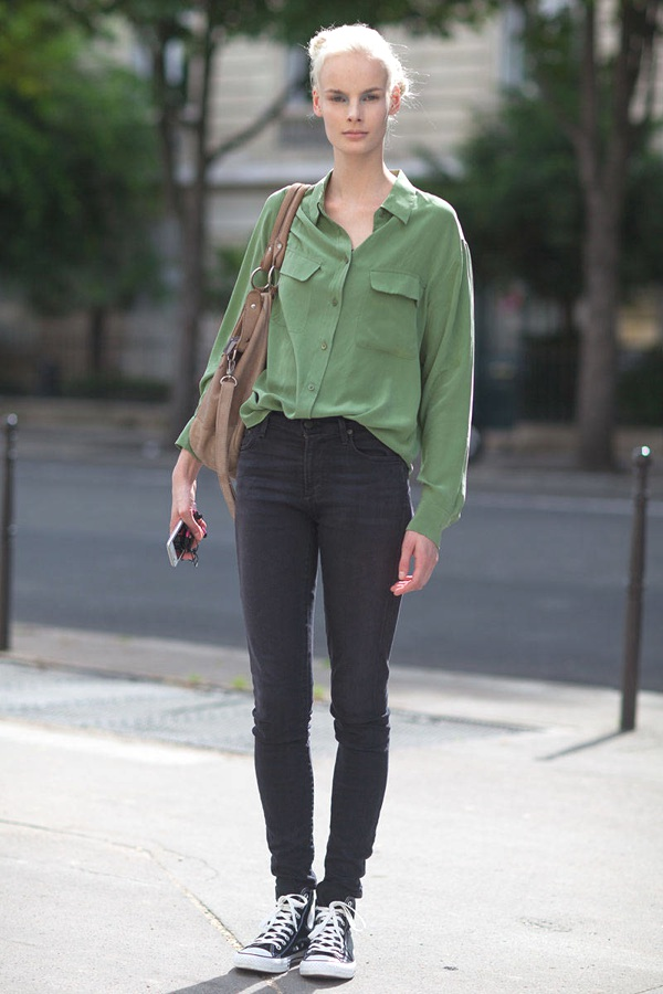 7 Styling Tricks To Make You Look Thinner silk blouse