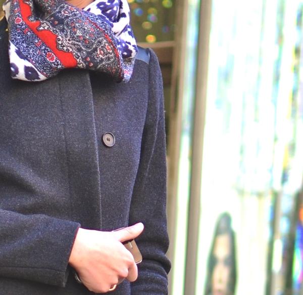 Alexandra Spadini Maje coat