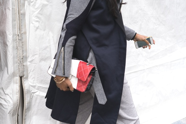Chanel Classic Flap Bag NYFW Street Style- The Top Handbags