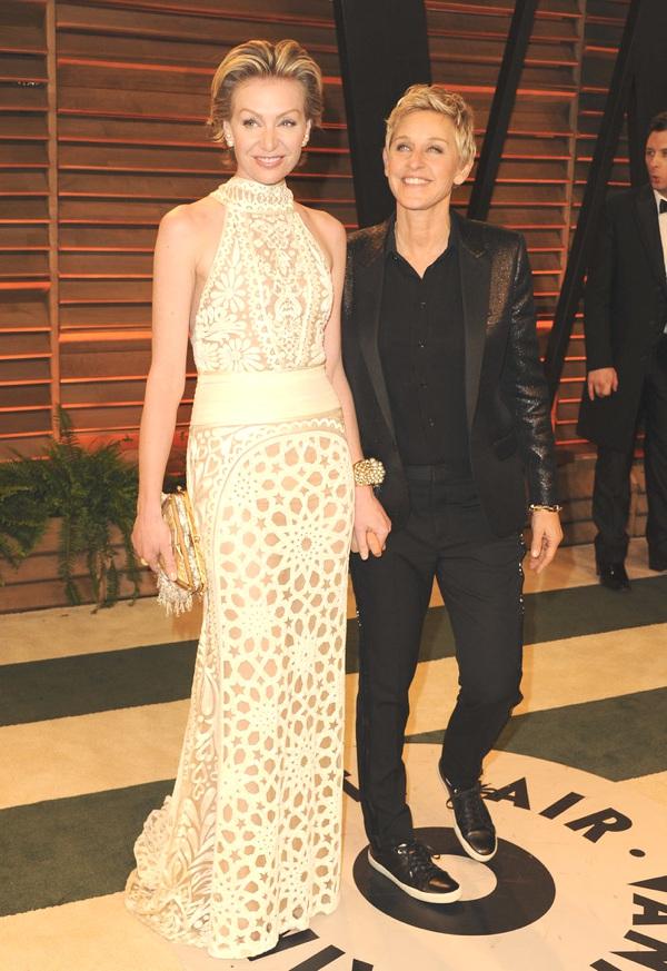 Ellen DeGeneres and her wife, Portia de Rossi