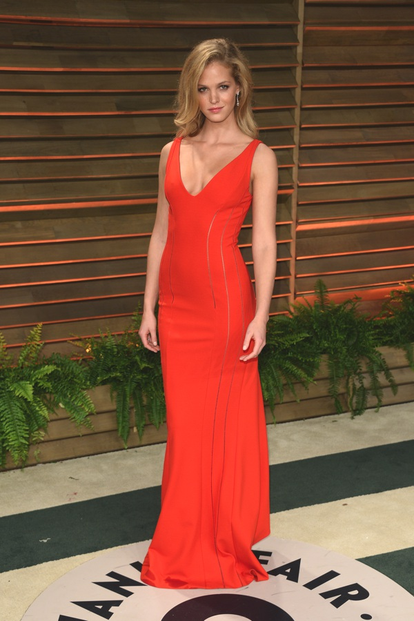 Erin Heatherton wearing Chopard at the VF party