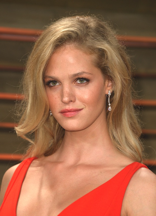 Erin Heatherton wearing Chopard at the VF party_