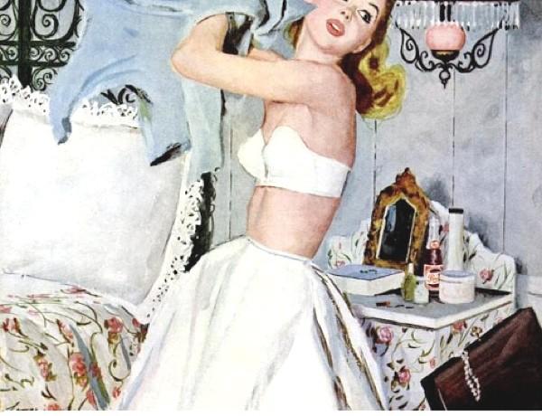 Fashion is for slender Pepsi Cola retro ad