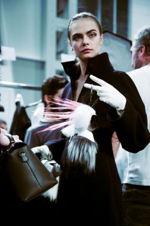 Fendi 2014 backstage