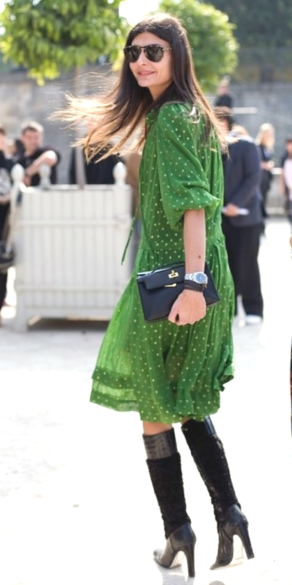 Green Love for St Partrick's Day dress