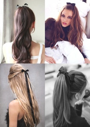 Hairstyle Trends- How To wear Ribbons in your hair