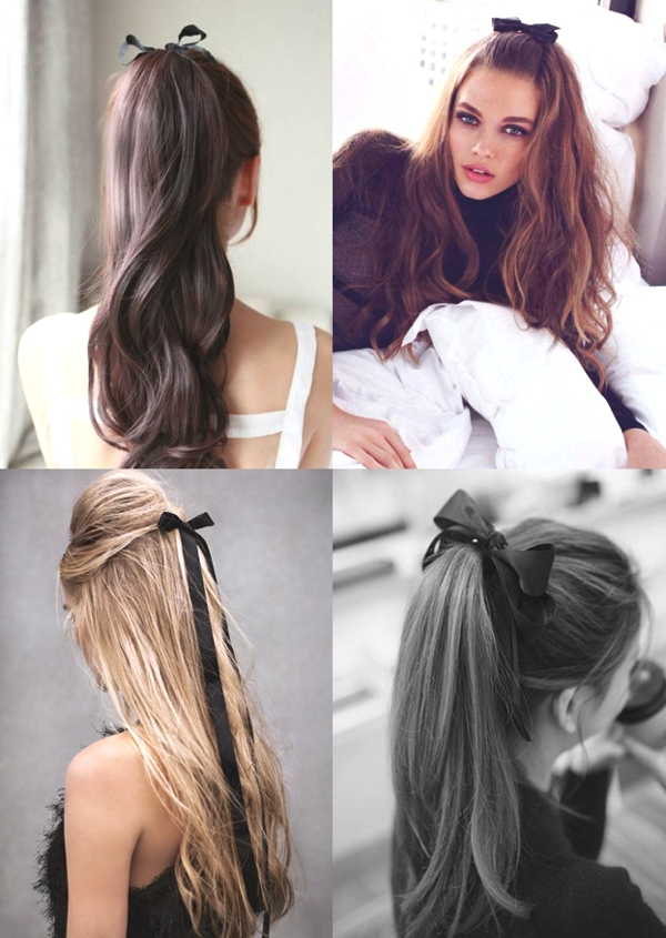 Superb Hairstyle Trends How To Wear Ribbons In Your Hair Trendsurvivor Hairstyles For Women Draintrainus