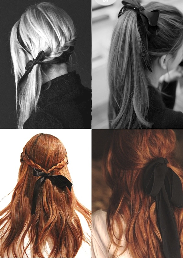 Fabulous Hairstyle Trends How To Wear Ribbons In Your Hair Trendsurvivor Hairstyles For Women Draintrainus
